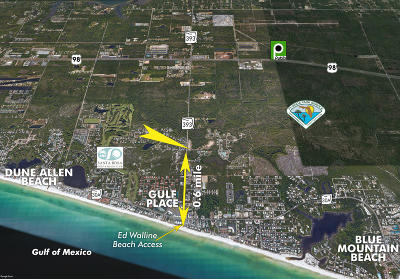 Santa Rosa Beach Single Family Home For Sale: Lot 1 Cr 393 Road