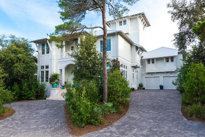 Santa Rosa Beach Single Family Home For Sale: 92 Seagrove Village Drive