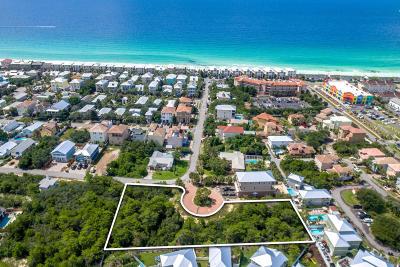 Miramar Beach Residential Lots & Land For Sale: Lots 1-7 Paradise Beach Circle