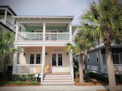 Inlet Beach Single Family Home For Sale: 216 W Seacrest Beach Boulevard