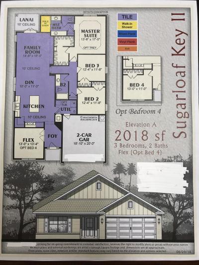 Fort Walton Beach Single Family Home For Sale: Lot 3 Wyatt Way