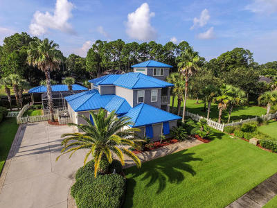 Panama City Beach Single Family Home For Sale: 7123 Dolphin Bay Boulevard