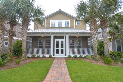Panama City Beach Single Family Home For Sale: 117 Turtle Cove