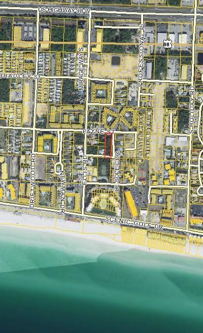 Miramar Beach Residential Lots & Land For Sale: Payne Street