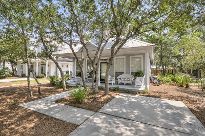 Inlet Beach Single Family Home For Sale: 462 Clareon Drive