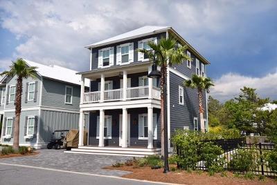 Santa Rosa Beach Single Family Home For Sale: Dune Side Lane #Lot 19