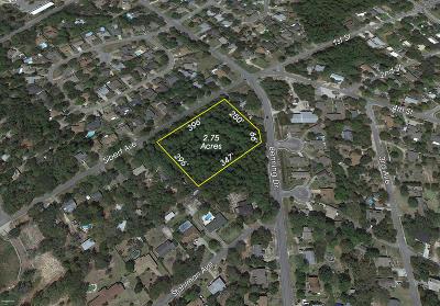 Destin Residential Lots & Land For Sale: 2.75 Acres Sibert Avenue