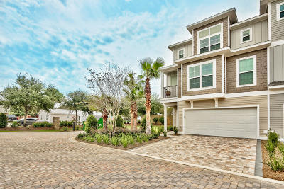 Miramar Beach Condo/Townhouse For Sale: 257 Driftwood Road #UNIT 20