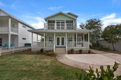 Crystal Beach Single Family Home For Sale: 91 Crystal Beach Drive