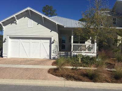 Santa Rosa Beach Single Family Home For Sale: 587 Flatwoods Forest Loop