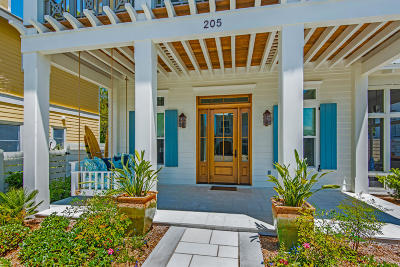 Santa Rosa Beach Single Family Home For Sale: 205 Magnolia Street
