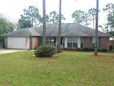 Crestview Single Family Home For Sale: 1218 Gabrielle Drive