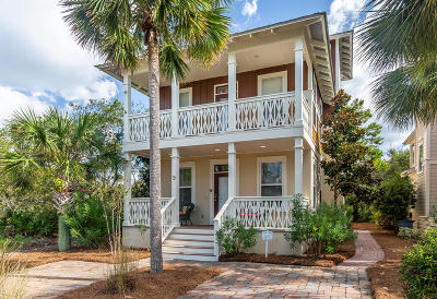 Inlet Beach Single Family Home For Sale: 9 Woody Wagon Way