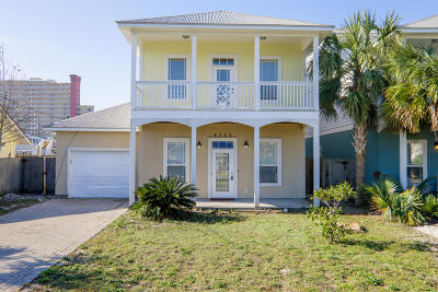 Panama City Beach Single Family Home For Sale: 6723 Sunset Avenue