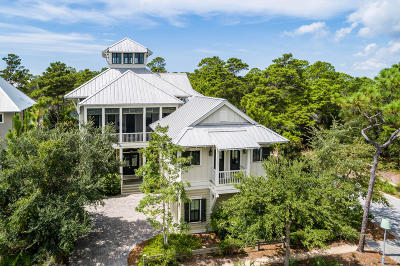 Santa Rosa Beach FL Single Family Home For Sale: $3,295,000