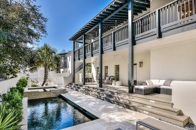 Rosemary Beach Single Family Home For Sale: 270 E Water Street