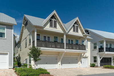Inlet Beach Condo/Townhouse For Sale: 175 Milestone Drive #UNIT A