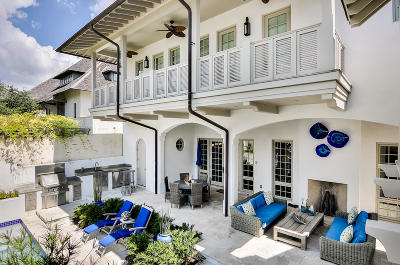 Rosemary Beach Single Family Home For Sale: 346 W Water Street
