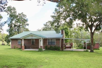 Defuniak Springs Single Family Home For Sale: 1525 Red Hill Bridge Road