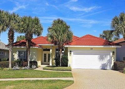 Destin Single Family Home For Sale: 27 Tranquility Lane