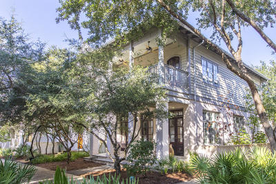 Rosemary Beach Single Family Home For Sale: 43 Hamilton Lane