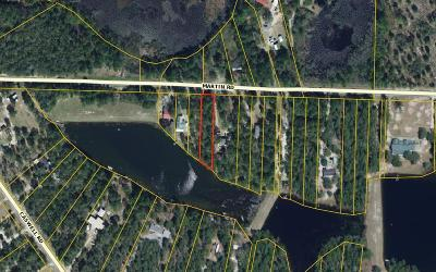 Defuniak Springs Residential Lots & Land For Sale: .42ac. Martin Road