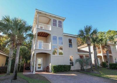 Santa Rosa Beach FL Single Family Home For Sale: $630,000