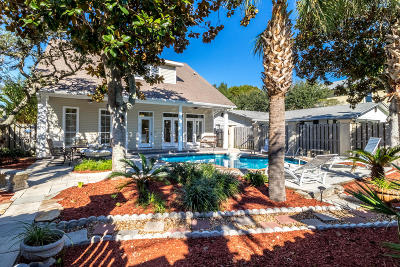 Destin Single Family Home For Sale: 76 Dolphin Street