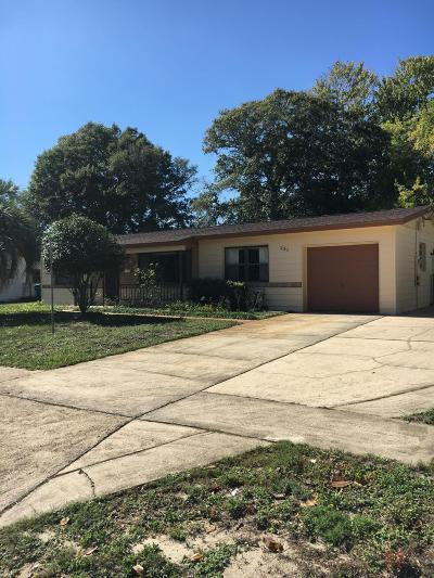 Mary Esther Single Family Home For Sale: 231 Gregory Drive