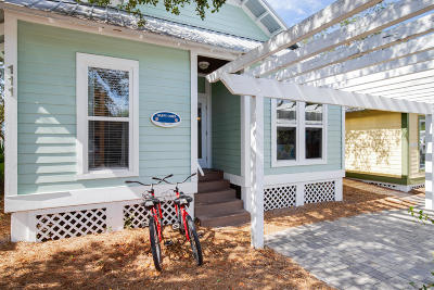 Inlet Beach Single Family Home For Sale: 111 Cottage Way #UNIT 14