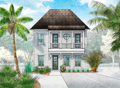 Inlet Beach Single Family Home For Sale: Lot 25 Valdare Way
