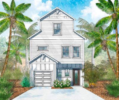 Inlet Beach Single Family Home For Sale: LOT 7 Valdare Lane