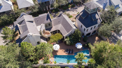 Rosemary Beach Single Family Home For Sale: 102 W Water Street