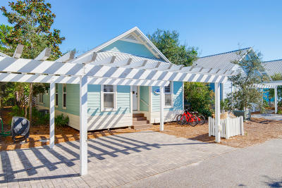 Inlet Beach Single Family Home For Sale: 197 Cottage Way #UNIT 27
