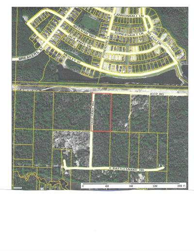 Inlet Beach Residential Lots & Land For Sale: V/L Box Turtle & Old Trail Road
