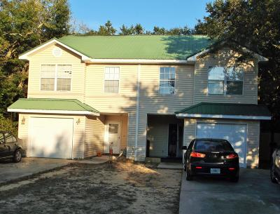 Fort Walton Beach Condo/Townhouse For Sale: 3 Magnolia Avenue #A & B