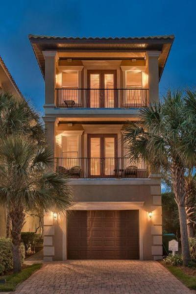 Destin Single Family Home For Sale: 4836 Ocean Boulevard