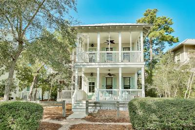 Watercolor Single Family Home For Sale: 117 Bluejack Street