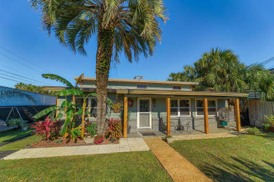 Panama City Beach Single Family Home For Sale: 214 Gulf Lane