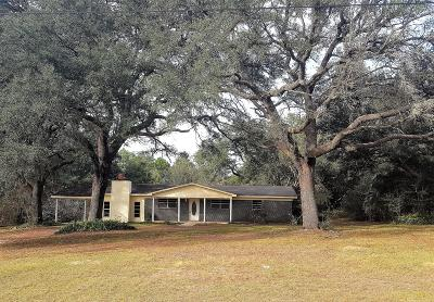 Mossy Head Single Family Home For Sale: 12290 Hwy. 90 West