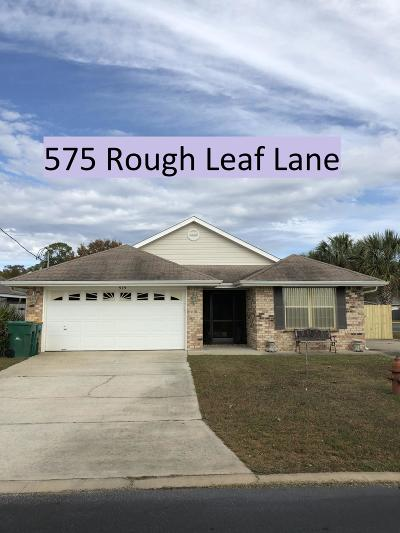 Mary Esther Single Family Home For Sale: 575 Rough Leaf Lane