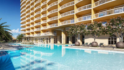 Panama City Beach Condo/Townhouse For Sale: 15928 Front Beach Road #1605