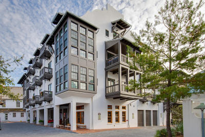 Rosemary Beach Condo/Townhouse For Sale: 74 Town Hall Road #2B