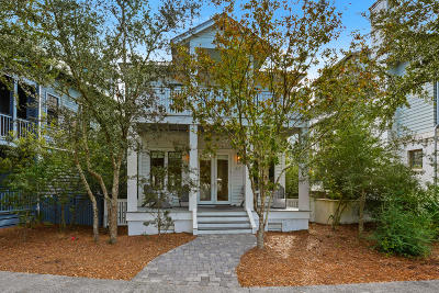 Rosemary Beach Single Family Home For Sale: 67 W Water Street