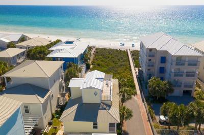 Santa Rosa Beach FL Single Family Home For Sale: $1,950,000