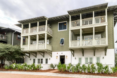 Rosemary Beach Condo/Townhouse For Sale: 27 St. Augustine Street #F