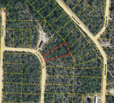 Defuniak Springs Residential Lots & Land For Sale: Lot 37 E Picasso Circle