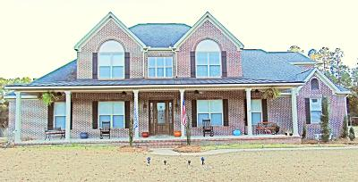 Defuniak Springs Single Family Home For Sale: 6816 N County Hwy 183