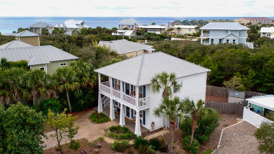 Inlet Beach Single Family Home For Sale: 41 Tranquil Way
