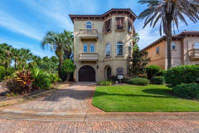 Miramar Beach Single Family Home For Sale: 58 Rue St Tropez